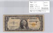 BILLET USA - AFRIQUE DU NORD - 1 DOLLAR 1935 A JAUNE*