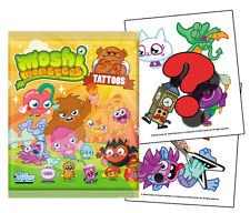 36 Packs Moshi Monsters Tattoos Series 2 | Full Moshling Box - PARTY FAVOURS!!