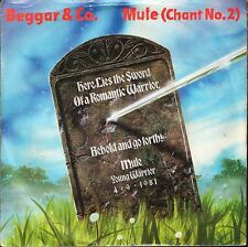 """BEGGAR AND CO mule (chant no 2)/go forth RCA 130 uk 1981 7"""" PS EX/VG+ jazzdance"""