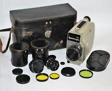 """RUSSIAN USSR """"KRASNOGORSK-1"""" 16mm MOVIE CAMERA + MIR-11 + VEGA-7 + VEGA-9 (2)"""