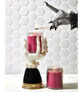 Bath & Body Works Halloween Witch Gothic Vampire Hand Candle Holder 2021, NEW