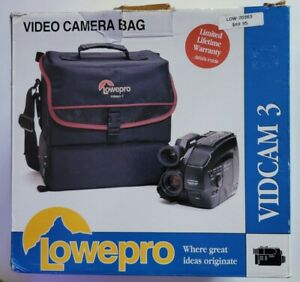 Lowepro Vidcam 3, Vintage Camera Bag, NOS