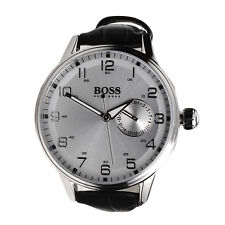 Hugo Boss Watch Womans Date 1502312 Leather Analog Water Resistant