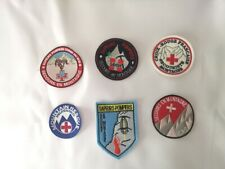 patch ecusson secours secouriste en montagne cas mountain rescue ski esf ffs