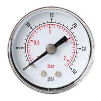 0-30psi 0-2Bar Manomètre Testeurs de Pression pour Airless Peinture