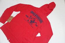 New True Religion Hoodie Red Big Buddha Jacket XLarge XL