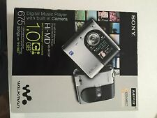 New Sony Hi-MD Walkman Player MZ-DH10P Portable MiniDisc Camera MD MP3 HiMD