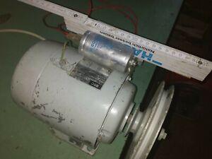 Elektro Motor BBC 220/380 Volt (mit Kondensator für 220 Volt) 0.37KW