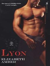 Lyon The Lords of Satyr Elizabeth Amber 2008 not a E-book Aphrodisia paperback N
