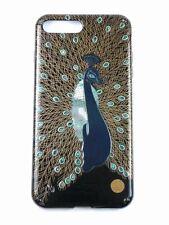 """AGJ Original Maki-e iPhone Case Cover """"Peacock"""" Taka Maki-e iPhone 7 Plus 8 Plus"""