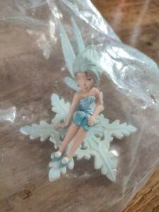 Bullyland Disney Fairies Periwinkle Winterfairy figure toy snowflake fairy NEW