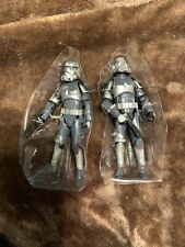 STAR WARS FORCE UNLEASHED Shadow stormtroopers Stormtrooper Lot Set 30th