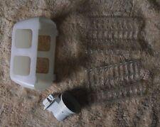 AEG Santo 7083-1KG American Style Fridge Freezer  Light Housing