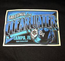 EDDIE VEDDER - Clearwater FL T-Shirt Size XL - December 3 4 2012 tampa pearl jam