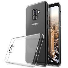 Funda TPU LISA Samsung Galaxy A8 PLUS 2018 (6) + PROTECTOR CRISTAL TEMPLADO