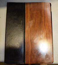 "PT Platinum - Folio Case for Apple® iPad® Pro 12.9"" - Black/Wood PT-MPDP1LWFB"