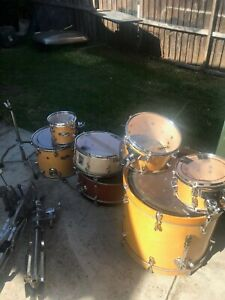 Awesome Mapex Pro M drum kit Use in good condition Farmer and others