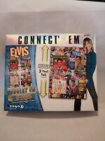 Elvis Presley Connect'em Puzzle 2240 Pieces 8209Y Open Box Interior Sealed
