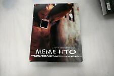 Used *Rare* Blu Ray Memento Steelbook + Photocards No Digital(See Description)