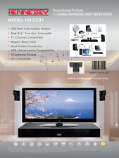 Hennessey 2201 Surround Sound Home Theater System