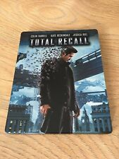 TOTAL RECALL LIMITED STEELBOOK EDITION BLU-RAY