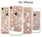 Fiocchi di neve Natale Renna TPU per iPhone 6/6S iPhone7 Plus phone case cover