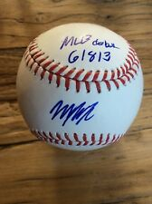Will Myers San Diego Padres Signed OMLB Baseball MLB Sweet Spot W/DEBUT INSCRIPT