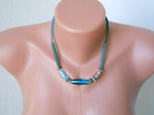 Langani Designer Collier,Kette mit der schwarzen Perle 24,3 g/L: 43 cm
