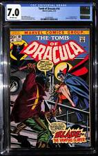 Tomb of Dracula #10 CGC 7.0 1st appearance of Blade the Vampire Slayer