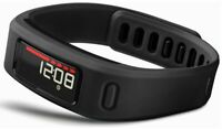 Garmin Vivofit 2 Fitness Activity Calories Tracker Water Resistant - Black