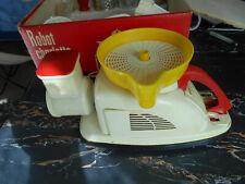 robot charlotte moulinex,1960,110volt,hachoir,presse agrume,chopper,citrus press