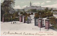 Gateway, Kelvingrove Park, GLASGOW, Lanarkshire