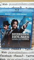Blu-ray  + DVD ita - SHERLOCK HOLMES - gioco di ombre Robert Downey jr Jude law
