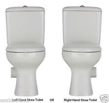 Modern Liwa Ceramic Left or Right Skew Trap Toilet Suite,set out skew trap 185mm