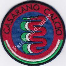 [Patch] SCUDETTO CASARANO CALCIO stemma diametro cm 7 toppa ricamo REPLICA -1022
