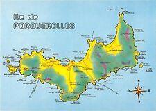 BT9800 plan de l ile de porquerolles map cartes geographiques 1 2   France