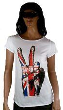 GENIAL Amplified The Who Union Jack VICTORIA Rock Star Vintage Diseñador