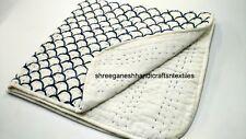 Hand Block Print quilt Kantha baby Quilt Baby New Design Kanth Throw Blanket 968