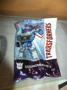 """NEW Wendys """"SOUNDWAVE TRANSFORMERS"""" Toy 2019"""