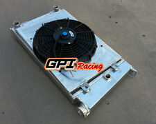 VW GOLF MK1/CADDY/ SCIROCCO GTI SPEC 1.6 1.8 aluminum radiator+ Shroud +Fan