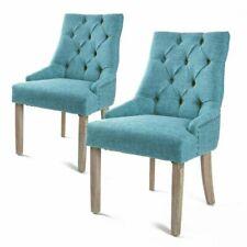 La Bella FTFC8443BU Accent Chair - Blue