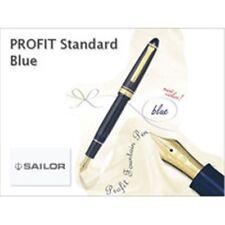 Sailor Profit 1911 Standard M (Medium) nib Blue 14k fountain pen