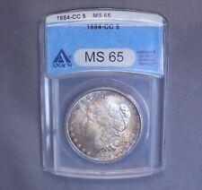 1884 - CC Morgan Silver Dollar   MS 65 ANACS   High Quality   U.S. Coin