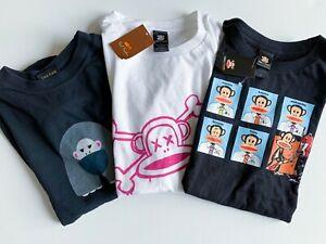 Lot of Paul Frank Juniors Size Medium Vintage Fitted Shirts (Fits Kids/Tweens)
