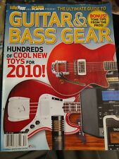 Guitar / bass Player Magazine gear review guide  2010  free usa shipping