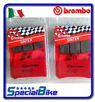 YAMAHA YZF R6 1999 > 2005 BREMBO SA SINTERED BRAKE PADS 2 SETS