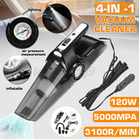 4 In 1 Portable Cordless Handheld Vacuum Cleaner Dust Fast Charge Home Car