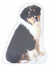 Puppy Dog Shaped Photo Decorative Accent Throw Pillow Bernese Mountain Dog
