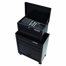 NEW Craftsman 5 Drawer Tool Chest Wheel Cabinet Steel Storage Box + 58pc Set