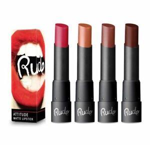 Rude Cosmetics Attitude Creamy Matte Lipstick - Choose Your Style